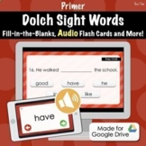 Dolch Sight Word Quiz (Primer) - Distance Learning With Go