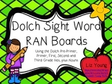 Dolch Sight Word RAN Boards