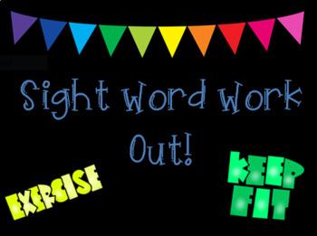 Dolch Sight Word Review Brain Break Bundle