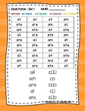 Dolch Sight Word Searches Pre-Primer Sets 1 to 11