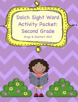 Dolch Sight Word - Second Grade Activity Packet