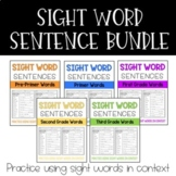 Dolch Sight Word Sentence Bundle