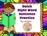 Sight Words Practice Sentences {Dolch} PowerPoint