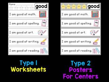 Dolch Sight Word Sentences - Primer List 2 : Little Lotus Reading Fluency