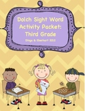 Dolch Sight Word - Third Grade Activity Packet