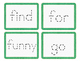Dolch Sight Word Tracing Cards: Pre-Primer