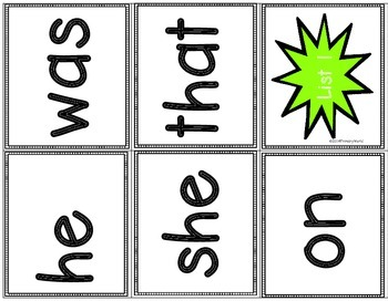 Dolch Sight Word Trifolds and More!  Dolch Primer List