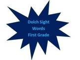 Dolch Sight Word Video (First Grade)