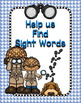 Sight Word Walk Activity - Pre-Primer
