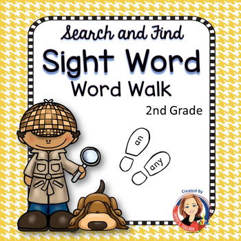 Sight Word Walk - Second Grade