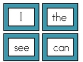 Dolch Sight Word Wall Cards