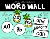 Dolch Sight Word-Word Wall