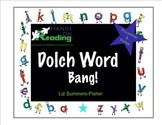 Dolch Sight Word cards for Bang and Memory Games - Pre-pri
