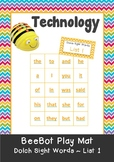 Dolch Sight Words - 11 Beebot Play Mats - 1 mat for each Dolch Word List
