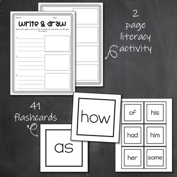 Dolch Sight Words- 1st Grade- Lists, Bookmarks, Activity