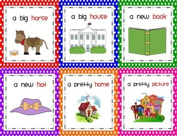 Dolch Sight Words Practice Phrase Cards (BUNDLE}