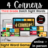 Dolch Sight Words 3rd Grade Digital Game for High Frequency Word Fluency