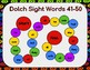 Dolch Sight Words 41-50 Board Game