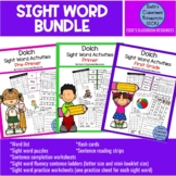 Dolch Sight Words Activity Bundle (Pre-primer to 1st Grade)