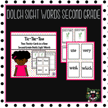 Dolch Sight Words Activity (Second Grade)
