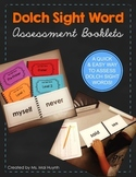 Sight Word Assessment Booklets