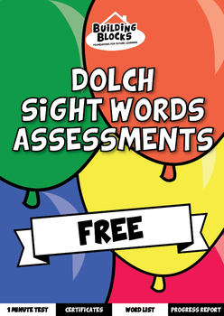 Dolch Sight Words Assessments