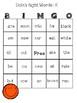 Dolch Sight Words BINGO: Primer/Kindergarten