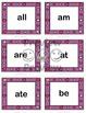 Dolch Sight Words Bingo - Kindergarten Valentine