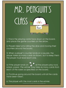 Dolch Sight Words Board Game - Mr. Penguin's Class