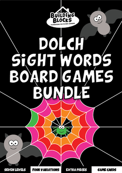 Dolch Sight Words Board Games Bundle