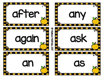 Dolch Sight Words Bundle