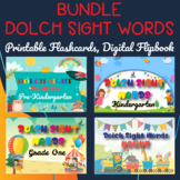 Dolch Sight Words Bundle, Pre-Kindergarten to Grade Three
