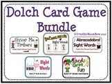 Dolch Sight Words Card Game Bundle