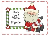 Dolch Sight Words (Christmas theme)- 1st Grade