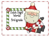 Dolch Sight Words (Christmas theme)- 3rd Grade