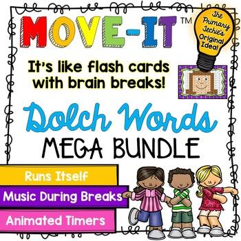 Dolch Sight Words MOVE IT! Mega Bundle