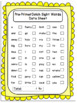Dolch Sight Words- Data Sheets and Word Wall Resources