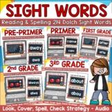 Dolch Sight Words Digital Bundle Reading & Spelling