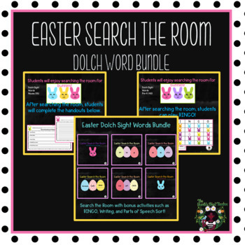 Dolch Sight Words Easter Activities Bundle