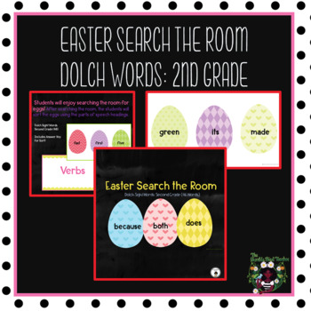 Sight Words -Dolch Sight Word Game Second Grade