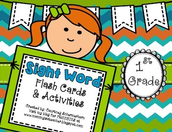 Dolch Sight-Words: Flash Cards & Activities/Centers/Stations-1st Grade