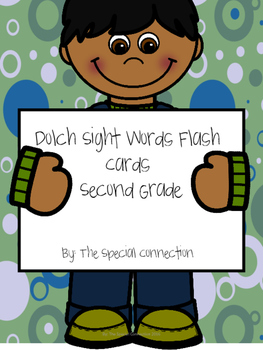 Dolch Sight Words Flash Cards-Second Grade