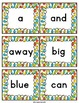 Dolch Sight Words - Flash Cards and Word Wall Cards