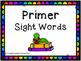 Dolch Sight Words - Flashcards & Data Sheet Bundle