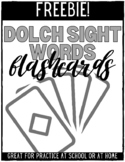 Dolch Sight Words Flashcards - FREEBIE