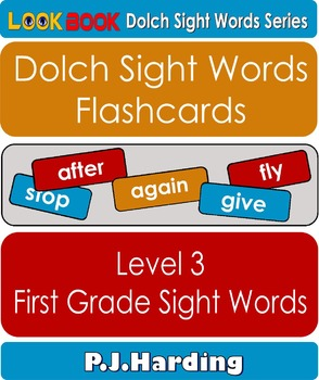 Dolch Sight Words Flashcards. Level 3 First Grade Sight Words