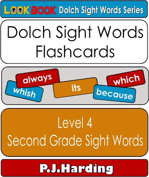 Dolch Sight Words Flashcards. Level 4 Second Grade Sight Words
