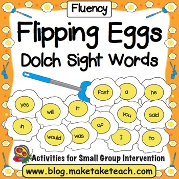 Sight Words - Dolch Sight Words Flipping Eggs