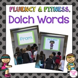 Dolch Sight Words Fluency & Fitness® Brain Breaks - distance learning