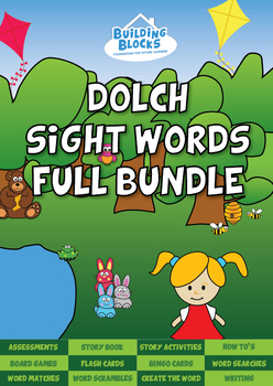 Dolch Sight Words Full Bundle